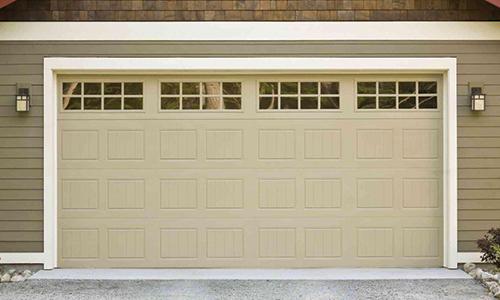 Garage Door Repair Service Button Image.
